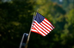USA flag in Summer time Royalty Free Stock Photos