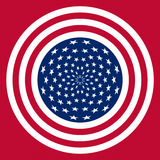 USA flag symbol Royalty Free Stock Images