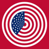 USA flag symbol Royalty Free Stock Photos