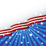 USA flag theme Royalty Free Stock Image