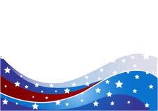 USA flag theme Stock Photography