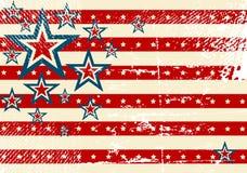 USA flag theme Royalty Free Stock Images