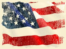 USA flag theme Stock Photo