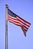 USA flag Royalty Free Stock Photography