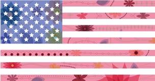 USA flag vintage Stock Photo