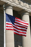 USA Flag, Washington Royalty Free Stock Photo