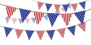 USA flaga Zdjęcie Royalty Free