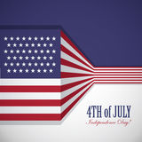USA flagga Royaltyfri Bild