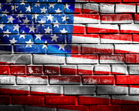 USA-flagga Royaltyfria Bilder