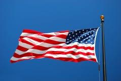 USA-flagga Fotografering för Bildbyråer