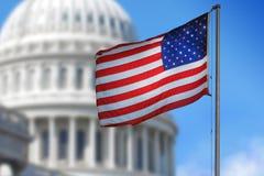 USA flagga Arkivfoto