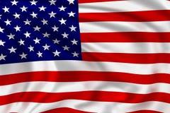 USA flagga Arkivfoton