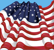 USA flagga Arkivbilder