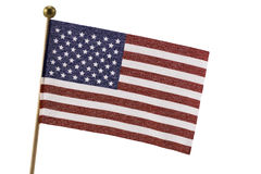 USA flagga Royaltyfri Bild