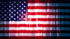 USA flagga 1 lager videofilmer