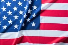 USA flagga för bakgrund Arkivfoto