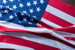 USA flagga för bakgrund Fotografering för Bildbyråer