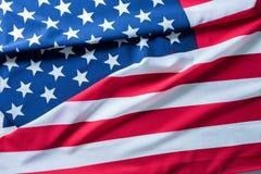 USA flagga för bakgrund Royaltyfria Bilder