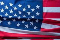 USA flagga för bakgrund Arkivbilder