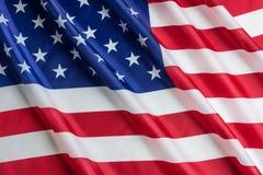 USA-flagga, självständighetsdagen eller 4th av Juli Fotografering för Bildbyråer