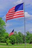 USA-FLAGGAS MEMORIAL DAY Fotografering för Bildbyråer