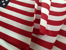 USA flags on sale Stock Image