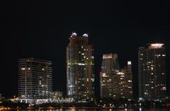 USA, Florida Miami - Atlantic coast stock image