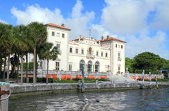 USA, Florida/Miami: Tourist Attraction - Villa Vizcaya Stock Images