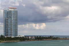 USA, Floryda Miami, Atlantyk wybrzeże - Obraz Royalty Free