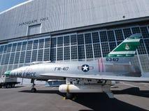 USA-flygplan Arkivbild