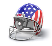 USA football helmet Stock Photography
