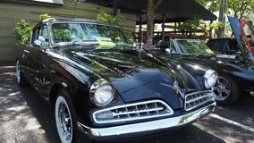 Black 1954 Studebaker commander regal starlight coupe