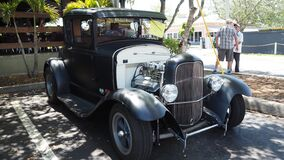 1930 Mate black Custom rod based of 1929 Ford model A bumper