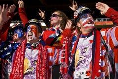 USA-Fußball-Verfechter - FIFA-WC 2010 Stockbilder