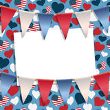 USA-garnering Royaltyfria Bilder