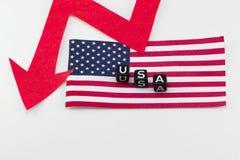 USA gospodarka Obrazy Stock