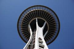 USA gränsmärke: Seattle utrymmevisare Royaltyfria Foton