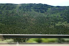 USA. Green mountains Utah. royalty free stock photos