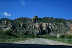 USA. Grey mountains Utah. stock photos