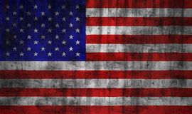USA grunge flag Royalty Free Stock Image