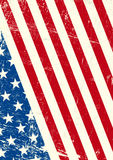 USA  grunge flag Stock Photography