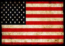 USA grunge flag Royalty Free Stock Photos