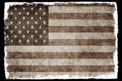 USA grunge flag Stock Images