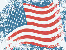 USA grunge flag Stock Photo