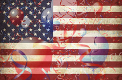 Usa grunge 5 Royalty Free Stock Images