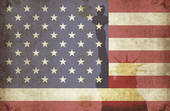 Usa grunge 2 Royalty Free Stock Images
