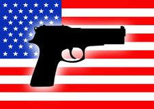 USA gun crime Stock Images