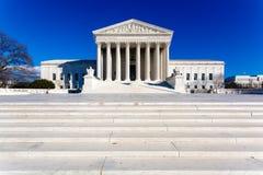 USA-högsta domstolenbyggnad royaltyfri bild