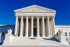 USA-högsta domstolenbyggnad arkivbild