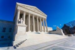 USA-högsta domstolenbyggnad fotografering för bildbyråer